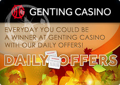 Genting Casino Presents Different Daily Benefits During November
