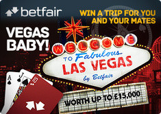 Betfair Live Casino Offers Trip to Vegas as Fantastic Prize