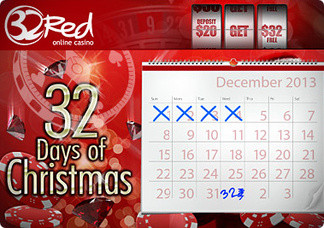 32 Days of Christmas at the 32Red Casino