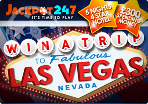 Trip to Vegas Up For Grabs at Jackpot 247