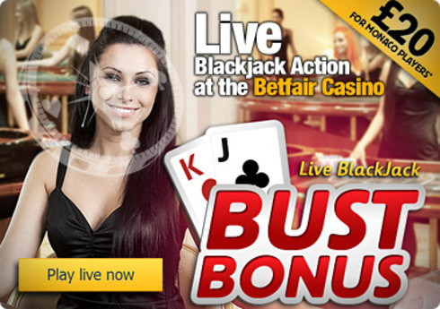 Live Blackjack Action at the Betfair Casino