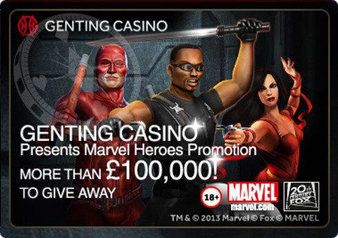 Genting Casino Presents Marvel Heroes Promotion