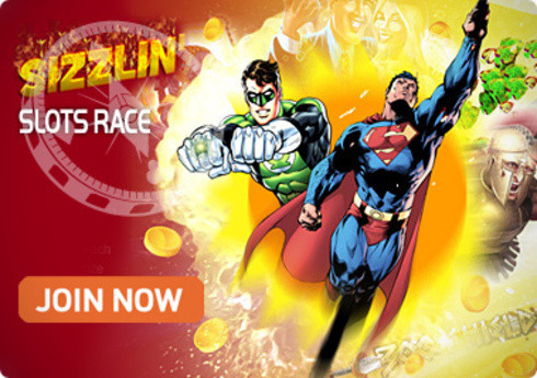 InterCasino Bubbling with Sizzlin Slots Race